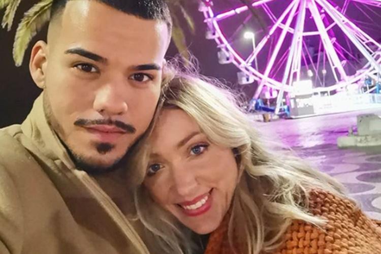 Sandra Costa com o marido (Reprodução/Instagram)