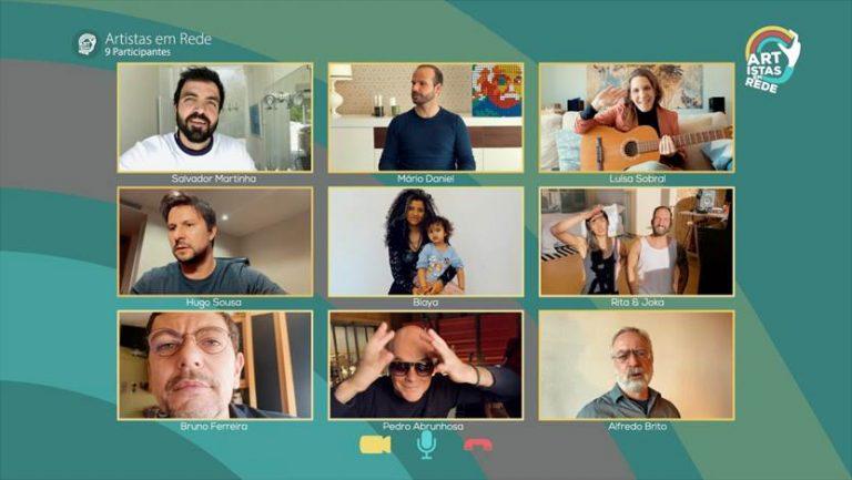 'Artistas em Rede': veja o novo programa da RTP feito em teletrabalho