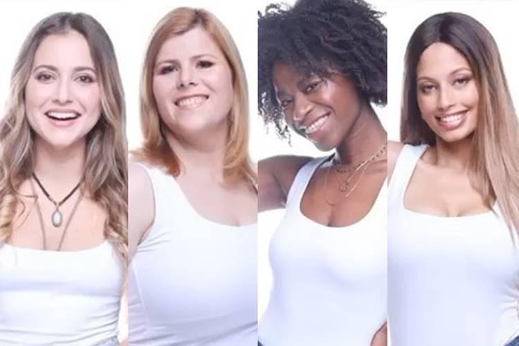 BB2020: Ana Catharina, Noélia, Slávia e Soraia são nomeadas