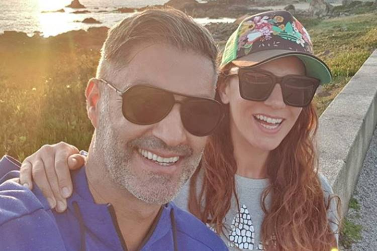 Vítor Baia pede Andreia Santos em casamento