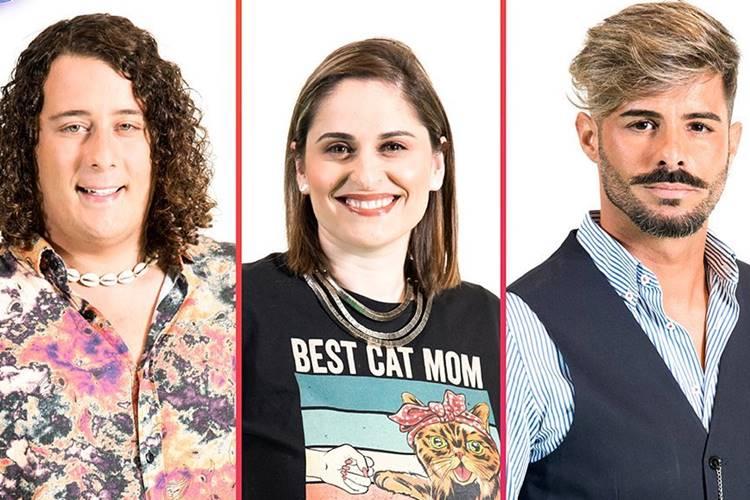 Big Brother – A Revolução: André Filipe, Diana e Rui são nomeados