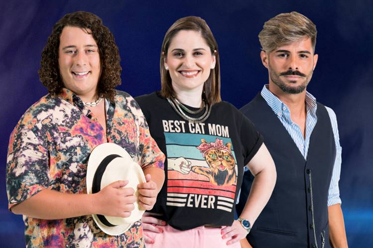 Sondagem Big Brother – A Revolução: André Filipe, Diana ou Rui? Vote!