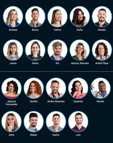 Big Brother A Revolução - Concorrentes/Instagram