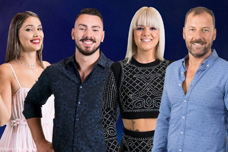 Big Brother A Revolução - Carina - Renato - Liliana - Pedro/TVI
