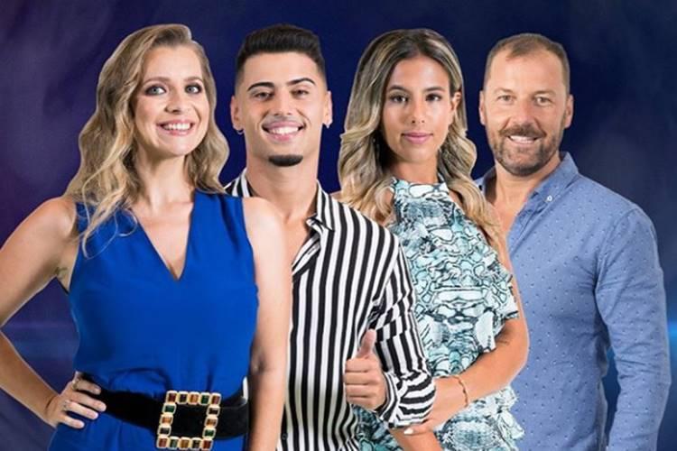 Big Brother - A Revolução - Andréia - Carlos - Joana - Pedro/TVI