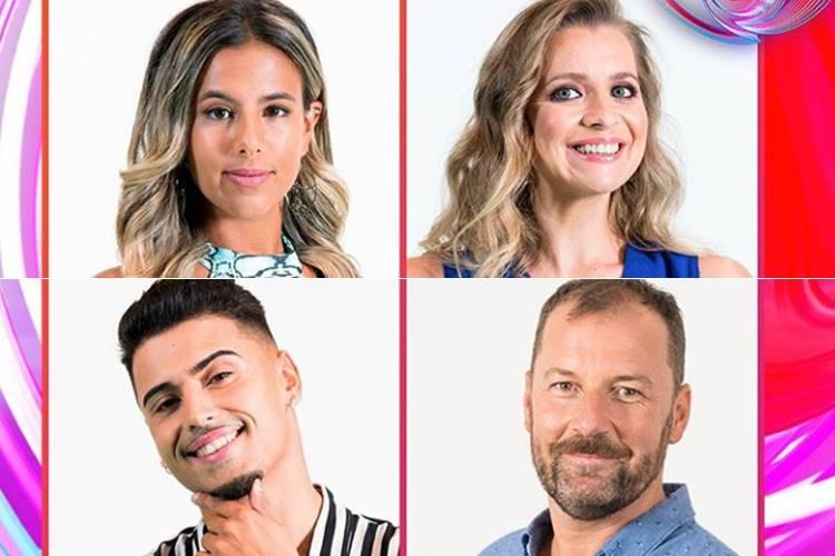 Big Brother – A Revolução: Andreia, Carlos, Joana e Pedro são os nomeados