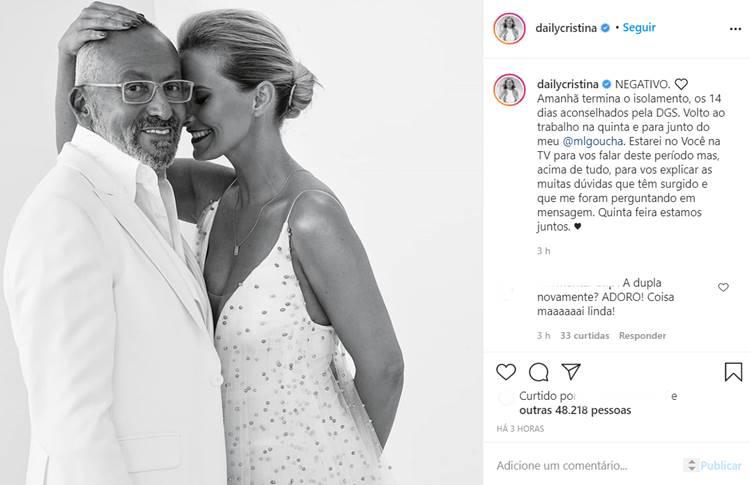 Post - Cristina Ferreira/Instagram