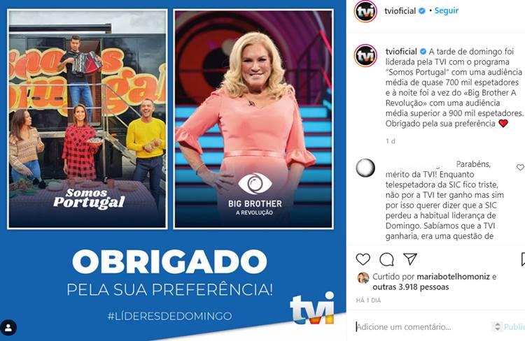 Post/Instagram TVI