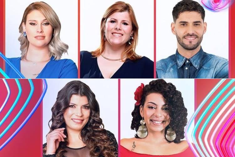 Big Brother – Duplo Impacto: Bernardina,Gonçalo Quinaz, Jéssica Fernandes, Noélia e Sofia são os nomeados da semana