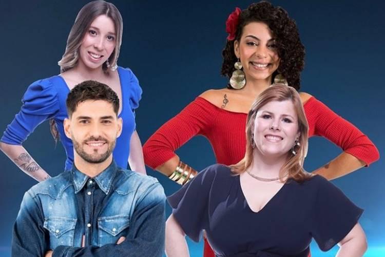 Sondagem Big Brother – Duplo Impacto: Gonçalo Quinaz, Jéssica Fernandes, Noélia ou Sónia? Vote!