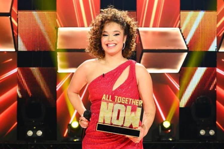 Catarina Castanhas é vencedora do All Together Now, da TVI