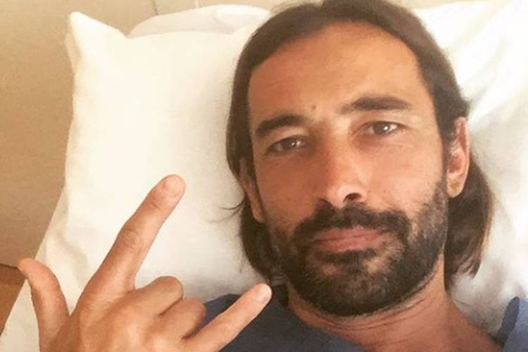 Rúben Gomes sofre acidente e imagens impressionam